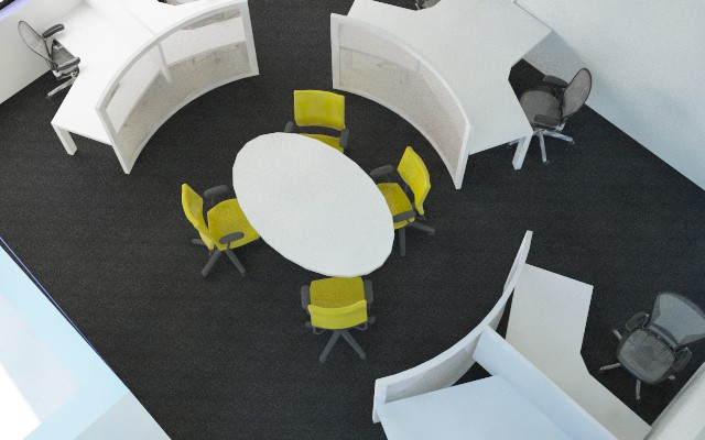 אזור ישיבה משותף