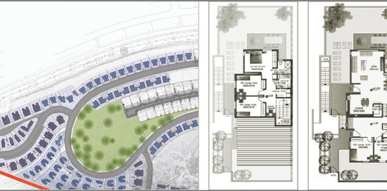 תכנון שכונת מגורים באריאל
