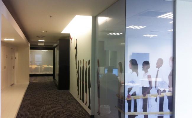 המחשת תחושת המרחב במשרד