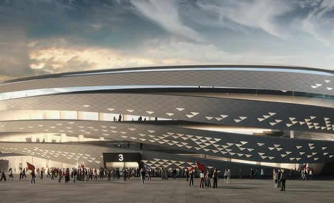 הדמיית אצטדיון בלומפילד המורחב